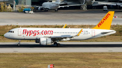 A picture of TCNBR - Airbus A320251N - Pegasus Airlines - © Alp AKBOSTANCI