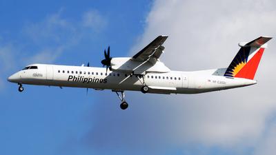 A picture of RPC3031 - De Havilland Canada Dash 8400 - Philippine Airlines - © Christian Isaac C. Apolinario