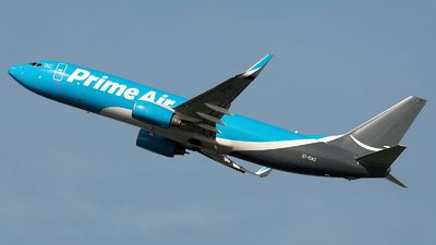 EI-DAC - Boeing 737-8AS(BCF) - Amazon Prime Air (ASL Airlines)