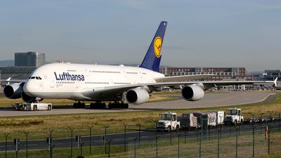 D-AIMF - Airbus A380-841 - Lufthansa