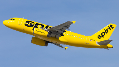 A picture of N528NK - Airbus A319132 - Spirit Airlines - © Eric Esots