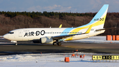 JA16AN - Boeing 737-781 - Air Do (Hokkaido International Airlines)