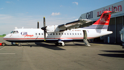 G-BXBV - ATR 42-300 - Gill Airways