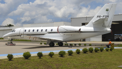 PR-FOR - Cessna 680 Citation Sovereign - Private