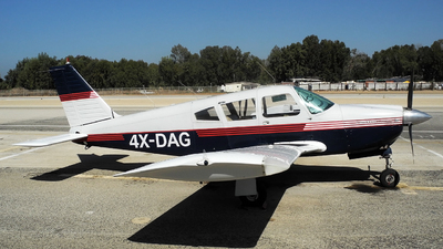 4X-DAG - Piper PA-28R-180 Cherokee Arrow - Private