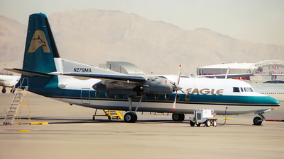 N279MA - Fokker F27-500 Friendship - Eagle Airlines