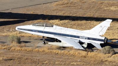 N418FS - North American F-100F Super Sabre - Private