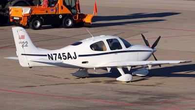 N745AJ - Cirrus SR22 - Private