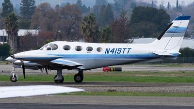 N419TT - Cessna 340 - Private