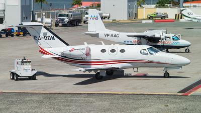 PJ-DOM - Cessna 510 Citation Mustang - Private