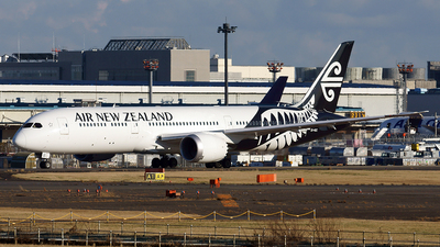 ZK-NZC - Boeing 787-9 Dreamliner - Air New Zealand