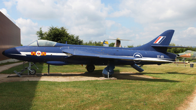 XF418 - Hawker Hunter F.6A - United Kingdom - Royal Air Force (RAF)