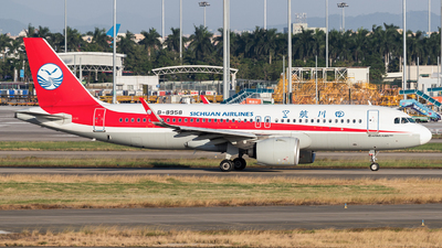A picture of B8958 - Airbus A320271N - Sichuan Airlines - © Jack  Li