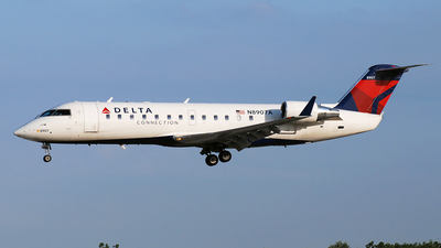 N8907A - Bombardier CRJ-200ER - Delta Connection (Pinnacle Airlines)