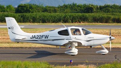 JA22FW - Cirrus SR22-GTS - Private