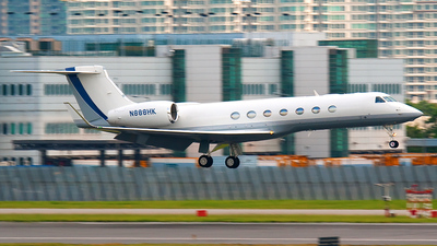 N888HK - Gulfstream G550 - BAA Jet Management