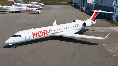 F-GRZJ - Bombardier CRJ-701 - HOP! for Air France