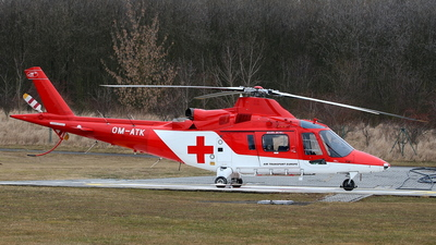 OM-ATK - Agusta A109K2 - Air Transport Europe (ATE)