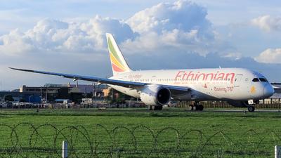 A picture of ETAOR - Boeing 7878 Dreamliner - Ethiopian Airlines - © Godwin Gabuat - Philippine Aviators