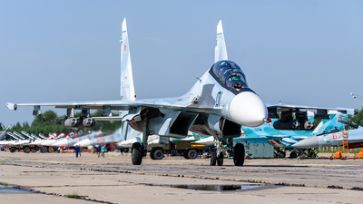 RF-93681 - Sukhoi Su-30SM - Russia - Air Force