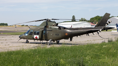 H28 - Agusta A109BA - Belgium - Army