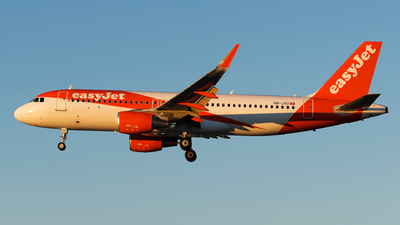A picture of HBJXO - Airbus A320214 - easyJet - © Rui Marques