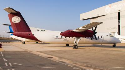 A picture of 5AAGR - De Havilland Canada Dash 8300 -  - © RowenAquilina