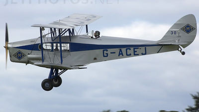 G-ACEJ - De Havilland DH-83 Fox Moth - Private
