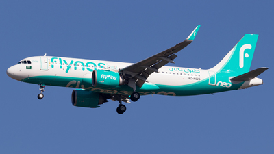 A picture of HZNS25 - Airbus A320251N - Flynas - © Hassaan Ali Khan