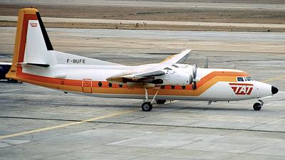 F-BUFE - Fokker F27-200 Friendship - TAT European Airlines