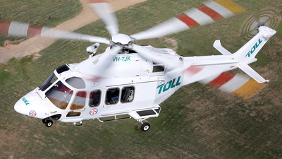 VH-TJK - Agusta-Westland AW-139 - Toll Helicopters NSW