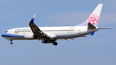 B-18665 - Boeing 737-8AL - China Airlines