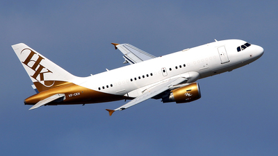VP-CKH - Airbus A318-112(CJ) Elite - Executive Jet Aviation