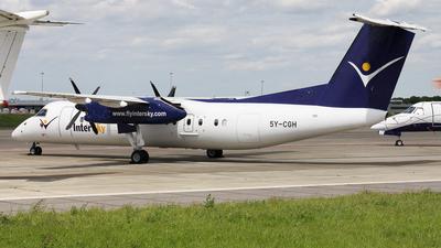 5Y-CGH - Bombardier Dash 8-Q314 - Fly540