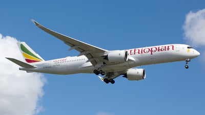 A picture of ETAWO - Airbus A350941 - Ethiopian Airlines - © Chris Pitchacaren
