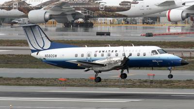 N580SW - Embraer EMB-120ER Brasília - United Express (SkyWest Airlines)