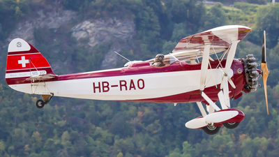 HB-RAO - Morane-Saulnier MS-317 - Private