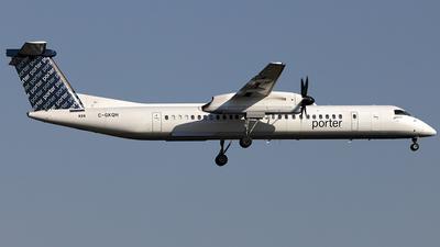 A picture of CGKQH - De Havilland Canada Dash 8400 - Porter Airlines - © TOMBARELLI FEDERICO