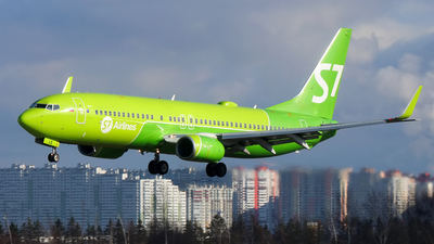 A picture of VPBLE - Boeing 7378Q8 - S7 Airlines - © Igor Dvurekov