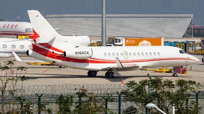 N166CK - Dassault Falcon 7X - Private