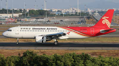 A picture of B6360 - Airbus A320214 - Shenzhen Airlines - © Jack  Li