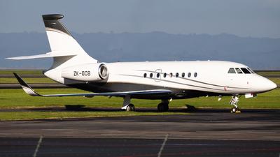 ZK-OCB - Dassault Falcon 2000LX - Pacific Jets