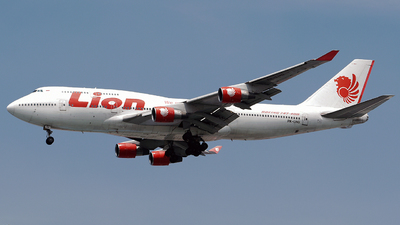 PK-LHG - Boeing 747-412 - Lion Air