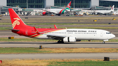 A picture of B1993 - Boeing 73787L - Shenzhen Airlines - © Unbeliverpool