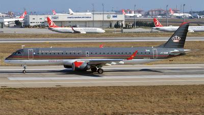 JY-EMB - Embraer 190-200LR - Royal Jordanian
