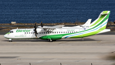 A picture of ECIYC - ATR 72500 - [0709] - © Bartolome Fernandez - Gran Canaria Spotters