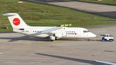 A picture of DAWUE - BAe 146200 - [E2050] - © Jan Heinrich