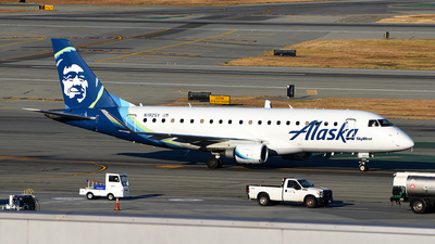 A picture of N192SY - Embraer E175LR - Alaska Airlines - © Rocky Wang