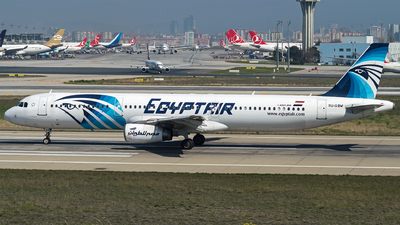 SU-GBW - Airbus A321-231 - EgyptAir