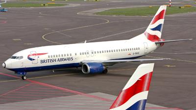 G-DOCE - Boeing 737-436 - British Airways